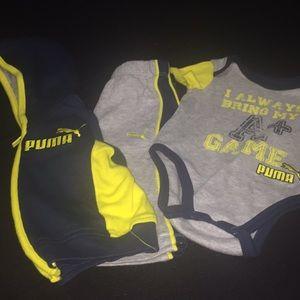 Puma 3pc. Sweatsuit Size